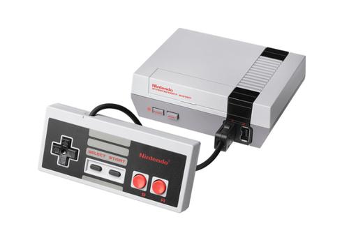 Nintendo Classic Mini NES spēļu konsole