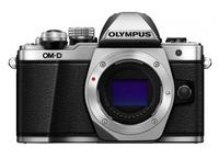 Olympus E-M10 Mark II Korpus Srebrny Digitālā kamera