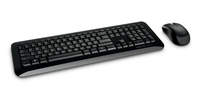 Microsoft Wireless Desktop 850 Wireless, QWERTY, Yes, 601 g, Black, English, Yes programmatūra