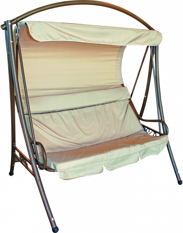 Šūpuļkrēsls 140x190x186cm Dārza mēbeles