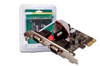 DIGITUS Serial interface card, PCI Express karte