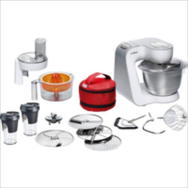 Bosch MUM58W56DE CreationLine Silver Virtuves kombains