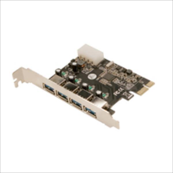 LOGILINK - Card PCI-Express 4xUSB3.0 karte