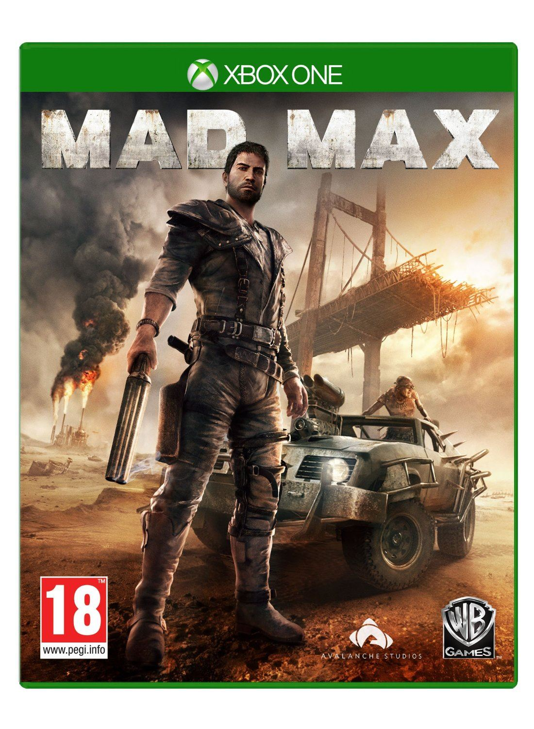 MAD MAX + ROAD WARRIOR PACK + GET THE RIPPER DLC XBOX ONE