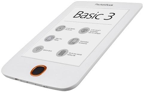 Pocketbook Basic 3 white PB614W-2-D-WW Elektroniskais grāmatu lasītājs