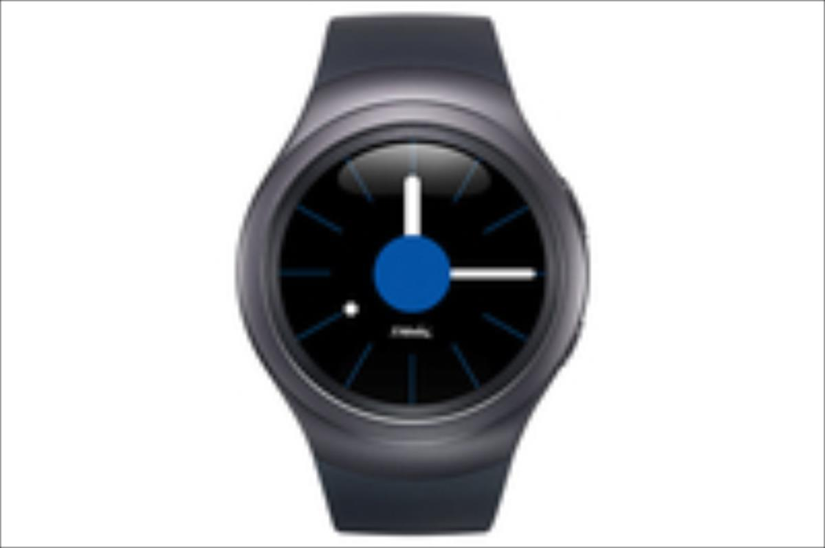 SAMSUNG Gear S2 Black/Dark grey Viedais pulkstenis, smartwatch