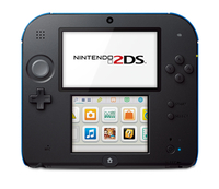 Nintendo 2DS black inkl. New Super Mario Limited Edition (3DS) spēļu konsole