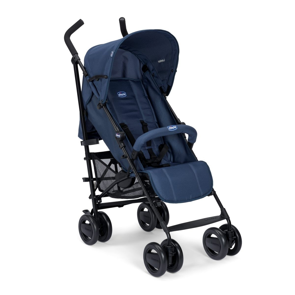 Chicco Buggy London Up blue passion bērnu ratiņi