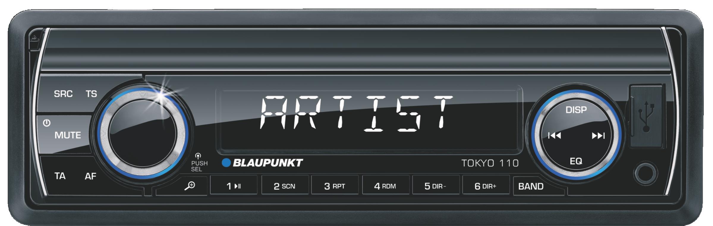 Blaupunkt TOKYO 110 FM SD USB PANEL automagnetola