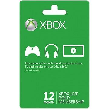 Xbox Live Gold 12m 52M-0054