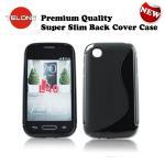 Telone Back Case S-Case gumijots telefona apvalks LG D610 aksesuārs mobilajiem telefoniem