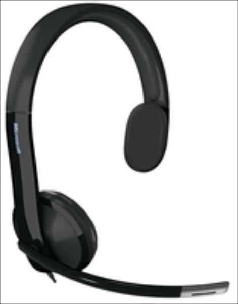 Microsoft LifeChat LX-4000 for Business Wired, 2.17 m, Black austiņas