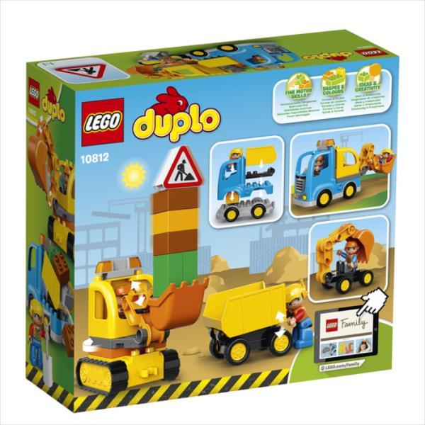 LEGO DUPLO 10812 Truck & Tracked Excavator LEGO konstruktors