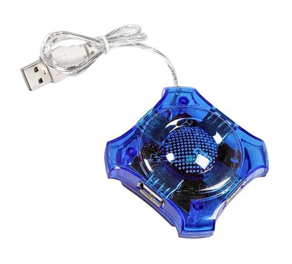 ESPERANZA EA150B Hub 4 Port USB 2.0 -STAR USB centrmezgli