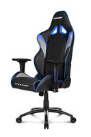 AKRACING Overture Gaming Stuhl Gaming Chair AK-OVERTURE-BL black / blau datorkrēsls, spēļukrēsls