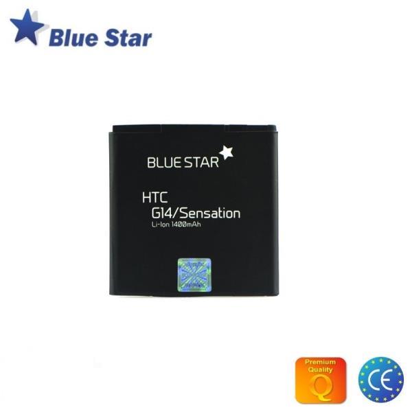 BlueStar Akumulators HTC G14 Sensation Li-Ion 1400 mAh Analogs BG58100 (BA S560) aksesuārs mobilajiem telefoniem