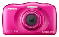 Nikon COOLPIX W100 pink Digitālā kamera