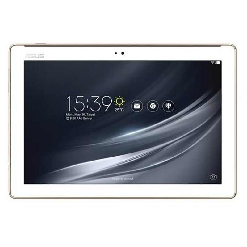 "Asus ZenPad 10 Z301ML 10.1 "", White, 10 finger multi-touch, IPS, 1280 x 800 pixels, MTK, MT8735W, 2 GB, 16 GB, Bluetooth, 4.2, 802. Planšetdators"