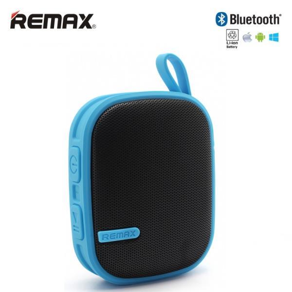 Remax RB-X2 Bluetooth 3.0 Super Skaļš 6W Gumjots Portatīvais Mūzikas Skaļrunis Zils pārnēsājamais skaļrunis
