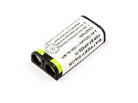 MicroBattery 2 Cell Ni-MH 2.4V 700mAh 1.7wh Headphone Battery for Sony 175674721, 175674722, BP-HP550, BP-HP550-11 akumulators, baterija portatīvajiem datoriem