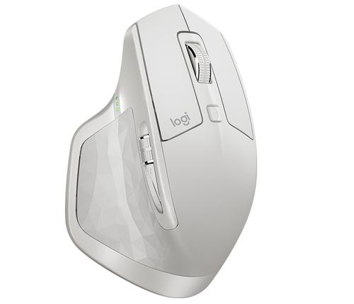 Logitech MX Master 2S RF wireless + Bluetooth Laser 4000DPI light grey Datora pele