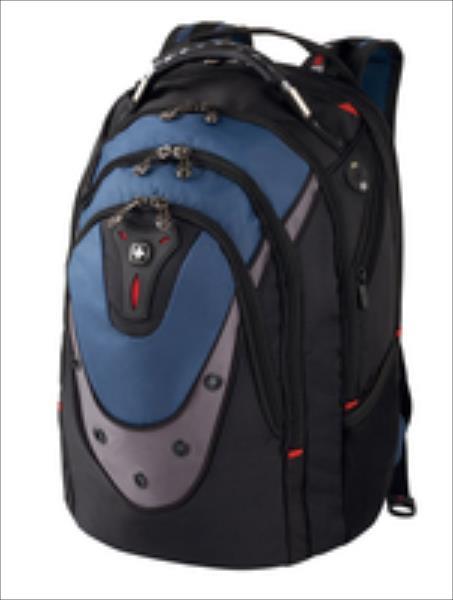 Wenger Backpack for laptop 17'' IBEX black-blue portatīvo datoru soma, apvalks