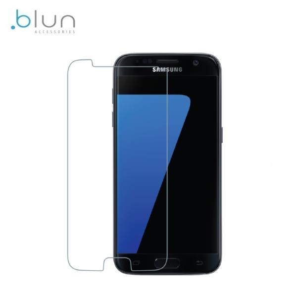 Blun Extreeme Shock 0.33mm / 2.5D Aizsargplēve-stiklss Samsung G935F Galaxy S7 Edge  (EU Blister) aksesuārs mobilajiem telefoniem