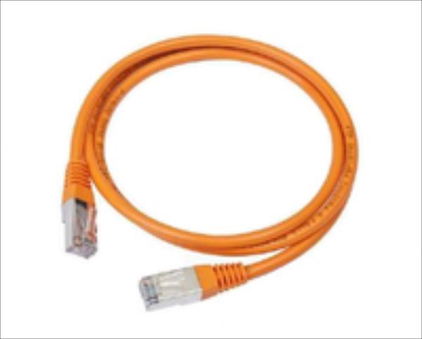 Gembird patchcord RJ45, cat.5e, UTP, 2m, orange tīkla kabelis