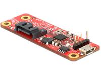 Raspberry Erweiterung Delock USB micro B -> SATA 7Pin Raspberry PI datora daļas