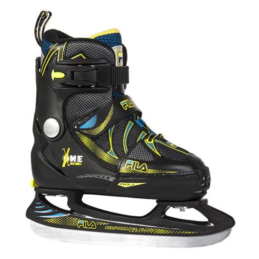 X-One Ice blk/yellow/F16 S32 10416200 Slidošanas un hokeja piederumi