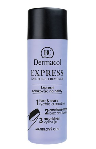 Dermacol Express Nail Polish Remover 120ml