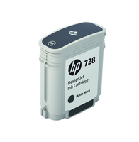 HP 728 69-ml Matte Black DesignJet Ink Cartridge (F9J64A) kārtridžs
