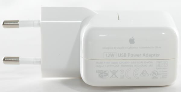 Apple Iphone/Ipad A1401 original charger - adapter 12W LAD_A1401 12W aksesuārs