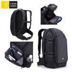 Case Logic DSB101K mugursoma digitāl m spoguļkamer m ar rokturi un plecu siksnu Melna portatīvo datoru soma, apvalks