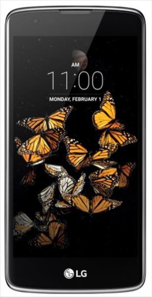 LG K8 K350n Black/Blue Mobilais Telefons