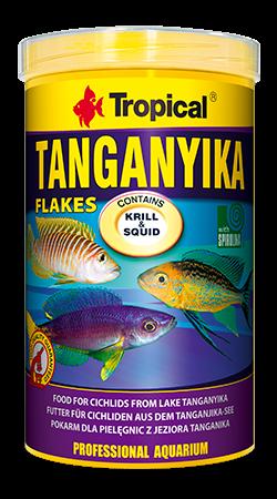 Tropical Tanganyika 250ml zivju barība