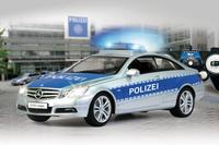 Jamara Mercedes E350 Coupe 1:16 Polizei 2,4 GHZ Radiovadāmā rotaļlieta