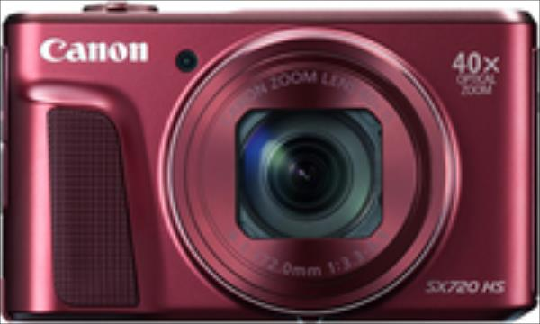 Canon PowerShot SX720 HS red Digitālā kamera