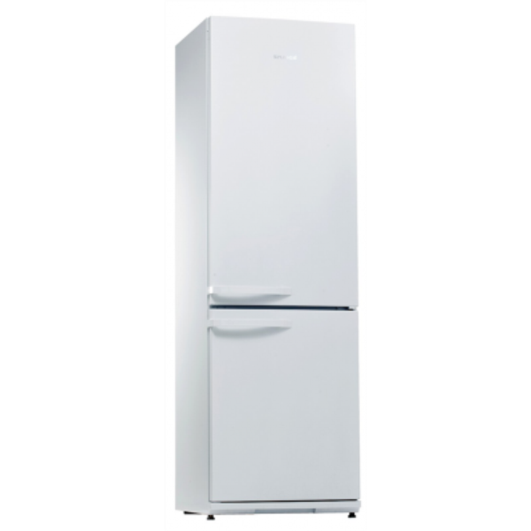 Snaige RF36SM-P100273 Refrigerator/60 cm Combi/H194,5/Fridge 229L/Freezer 88L/EC A++/Anti-Bacterial system/Auto defrost/LED lighting/White Ledusskapis