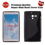 Telone Back Case S-Case gumijots telefona apvalks Sony C6502 aksesuārs mobilajiem telefoniem