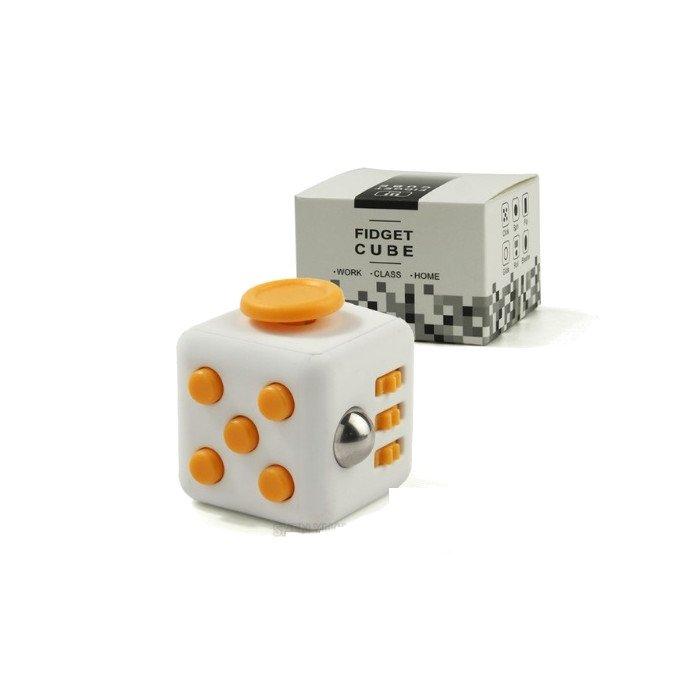 Mocco Fidget Cube Anti - Stresa Ierīce Kubs Dzeltens Fidget spinner