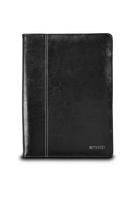 Maroo Kickstand Leather Folio Surface 3 Black planšetdatora soma