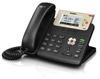 Yealink SIP-T23G IP Phone, 132x64-pixel graphical LCD with backlight, 3 SIP accounts IP telefonija