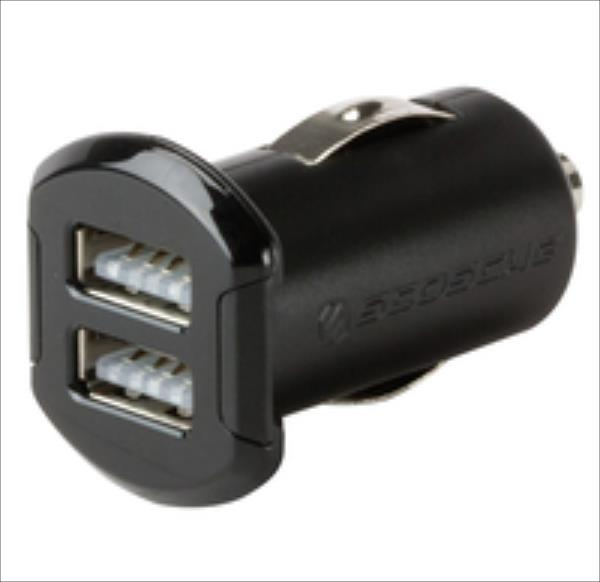 Scosche RevoLT, 12W + 12W,  2xUSB (USBC242M) iekārtas lādētājs