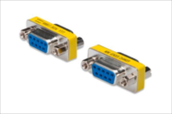ASSMANN RS232 Adapter DSUB9  F (jack)/DSUB9 F (jack) adapteris