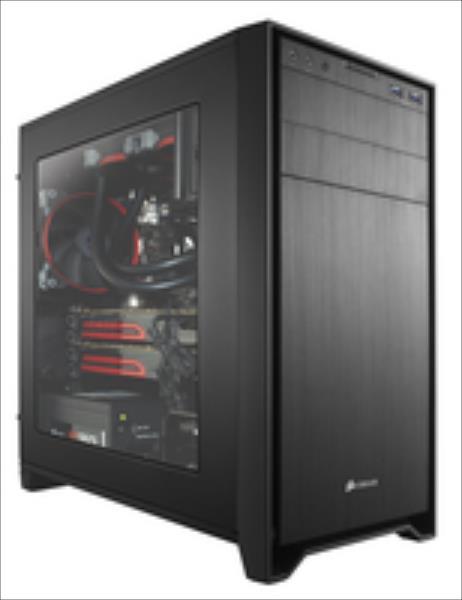 Corsair Obsidian 350D, USB3, 120/140mm, Windowed Datora korpuss