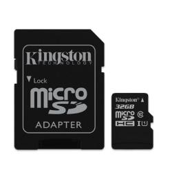 KINGSTON 32GB microSDHC Class10 UHS-I atmiņas karte