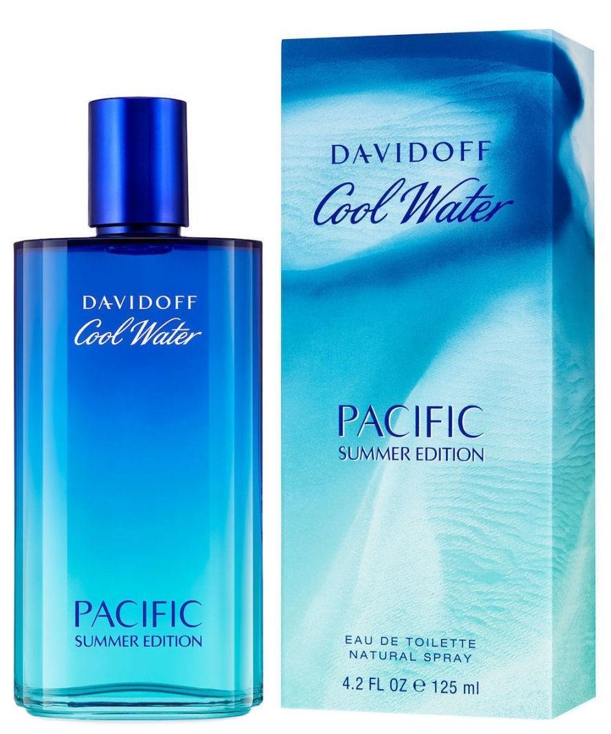 Davidoff Cool Water Pacific Summer Edition 125ml Vīriešu Smaržas