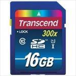TRANSCEND 16GB SDHC Class10 UHS-I 300X atmiņas karte