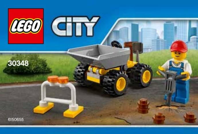Lego City Mini Dumper 30348 LEGO konstruktors